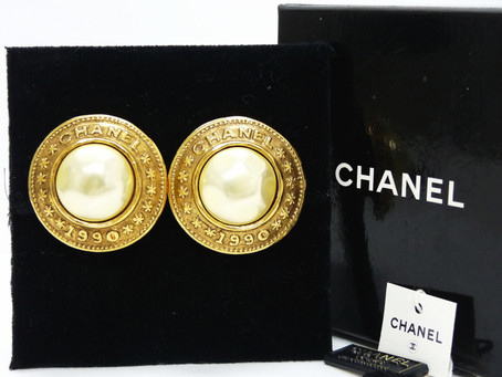 須磨のE様から昔のシャネルのイヤリングをを買い取り|須磨区・垂水区で売るならE-brand(いーぶらんど)へ