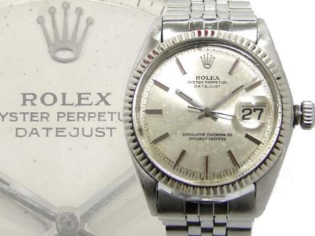 垂水桃山台のU様から壊れたロレックス,ROLEX,デイトジャスト,ref1601,メンズ腕時計を買い取り