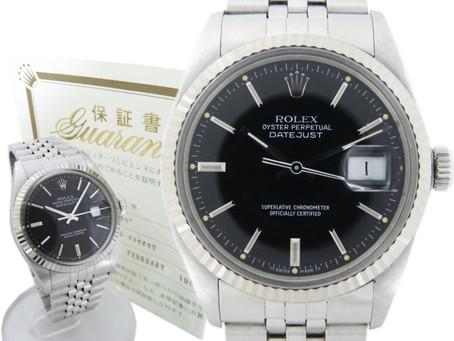 東須磨のT様から古いロレックス,デイトジャスト,腕時計,Ref1603,ROLEXを買い取り