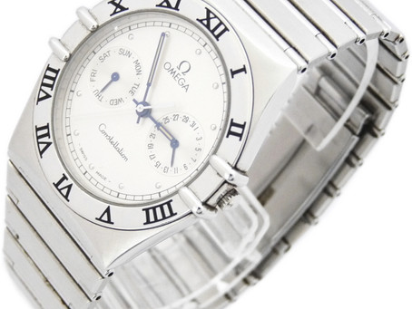 垂水ジェームス山のY様からオメガの時計,コンステレーション,1520.30,OMEGA,クオーツ,デイデイトを買い取り