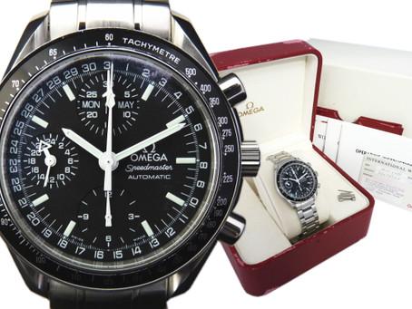 垂水舞多聞のお客様からオメガの時計,スピードマスター,マーク40,3520.50を買い取り