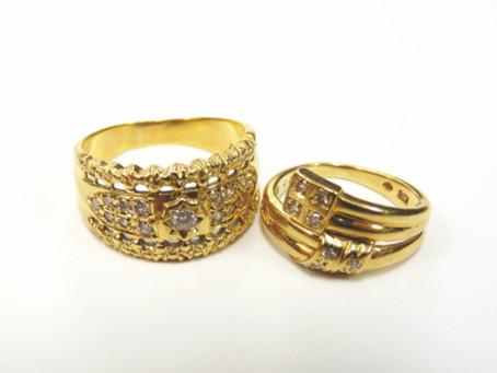 名谷のN様から昔の金の指輪を買い取り|須磨区・垂水区で売るならE-brand(いーぶらんど)へ