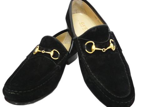 垂水のY様からグッチ,GUCCI,靴,ローファー,ホースビット,スウェードを買い取り