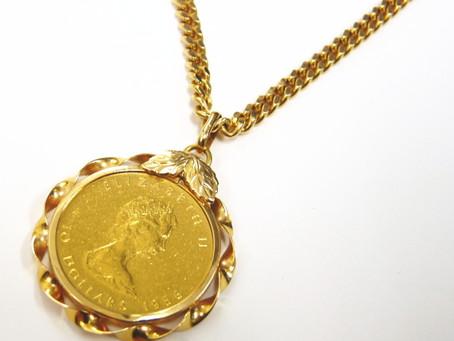 垂水のN様からコインのネックレスを買い取り|須磨区・垂水区で売るならE-brand(いーぶらんど)へ