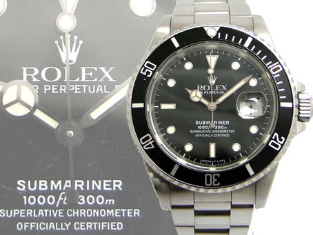 須磨のY様からロレックス,サブマリーナ,Ref.16610,時計,デイト,ROLEXを買い取り