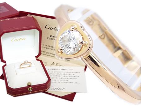 明石市のF様からカルティエの指輪を買取|須磨区・垂水区で売るならE-brand(いーぶらんど)へ