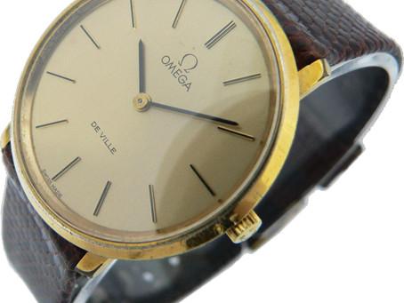 垂水のK様から古いオメガの時計を買取|須磨区・垂水区で売るならE-brand(いーぶらんど)へ