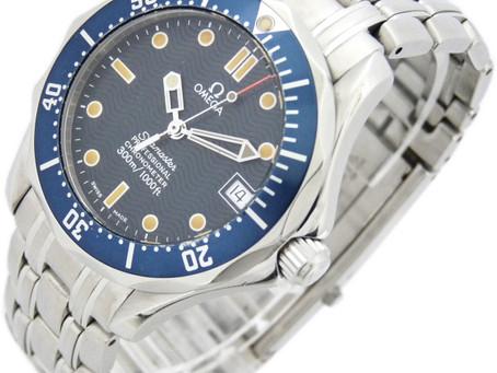鷹取のY様からオメガの時計,OMEGA,シーマスター,300m/1000ft,プロフェッショナルを買い取り