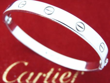 名谷のO様からカルティエのラブブレスを買取|須磨区・垂水区で売るならE-brand(いーぶらんど)へ