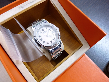 名谷のN様からエルメスの時計を買い取り|須磨区・垂水区で売るならE-brand(いーぶらんど)へ