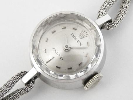 垂水塩谷のU様から古いロレックス,ROLEX,プレシジョン,1401,K18WG,時計を買い取り