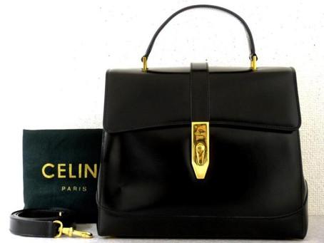 須磨のW様から古いセリーヌの鞄を買い取り|須磨区・垂水区で売るならE-brand(いーぶらんど)へ