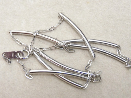 垂水のF様からK18WGのネックレスを買い取り|須磨区・垂水区で売るならE-brand(いーぶらんど)へ