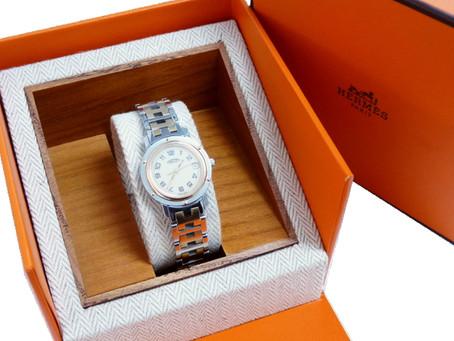 須磨寺のN様からエルメスの時計を買い取り|須磨区・垂水区で売るならE-brand(いーぶらんど)へ