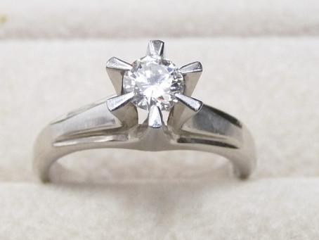 月見山のW様から立爪の指輪,ダイヤモンドを買い取り 須磨区・垂水区で売るならE-brand(いーぶらんど)へ