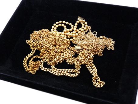 垂水塩谷のK様から金,K18,喜平ネックレス,ブレスレットをまとめて買い取り