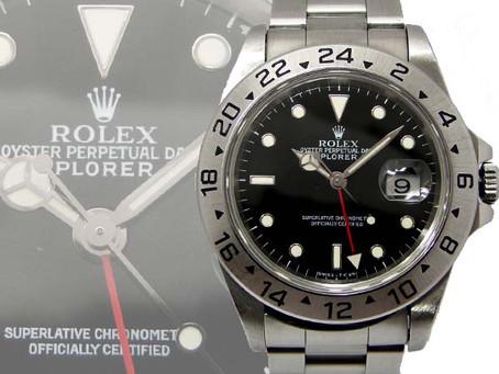 垂水ジェームス山のF様からロレックス,ROLEX,エクスプローラー2,EXPLORERⅡ,16570,時計を買い取り