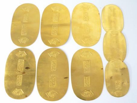 須磨月見山のK様から金の小判,純金,k24,造幣局,レプリカを買い取り