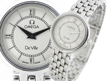 板宿のお客様からオメガの時計,DeVille,デビル,レディースを買い取り