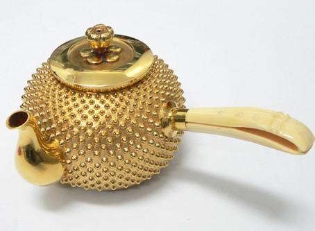東須磨のN様から金の急須,純金,K24,置物,貴金属,を買い取り
