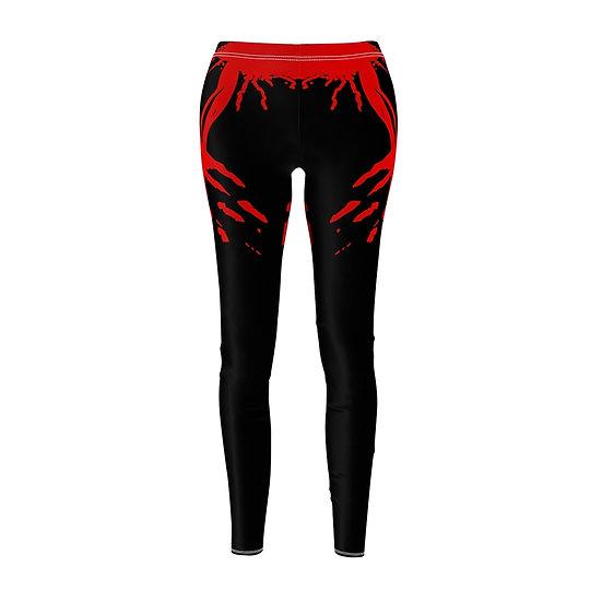 Women's ETHX Leggings - BLACK/RED