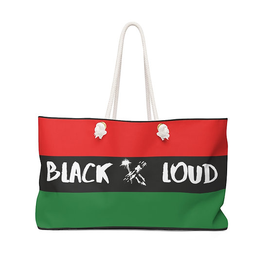 BLACK X LOUD Weekender Bag