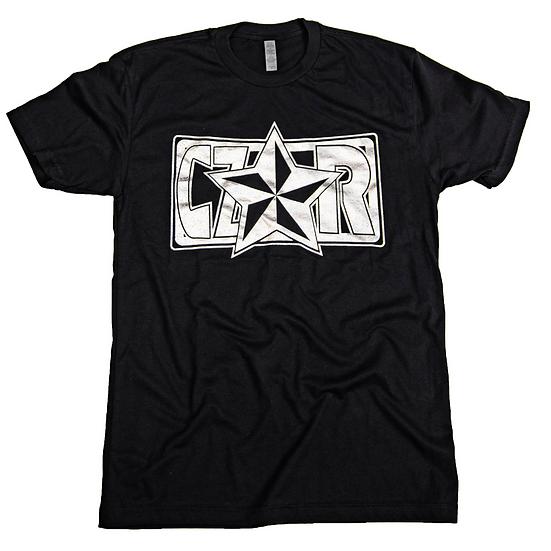 Czar T-Shirt - Black/Silver