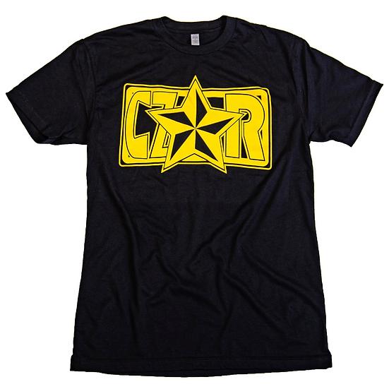 Czar T-Shirt - Black/Gold