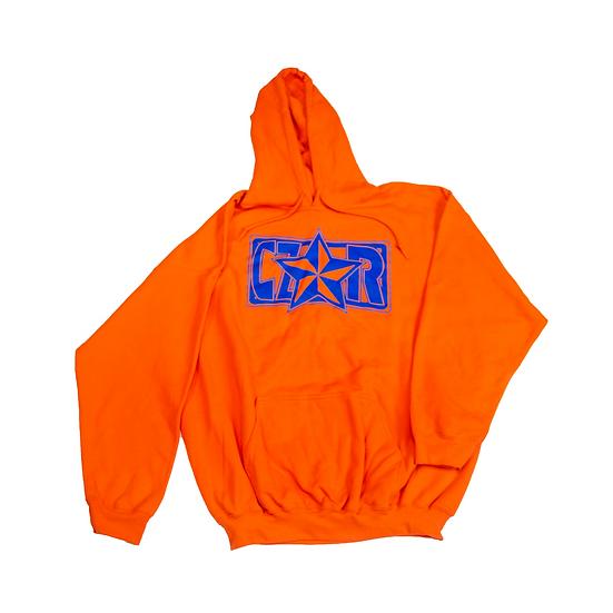 Czar Hoodie - Orange/Blue