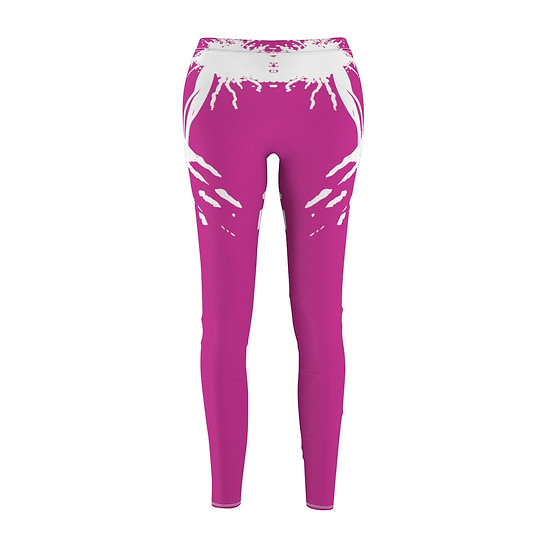 Women's ETHX Leggings - FUCHSIA/WHITE