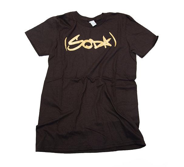 """SODA """"Classic"""" T-Shirt - Cocoa/Cream"""