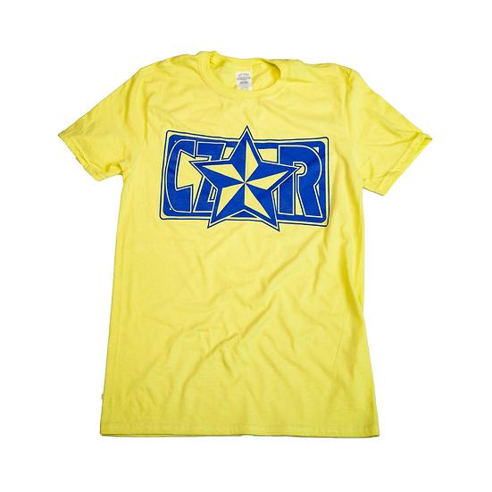 Czar T-Shirt - Yellow/Royal