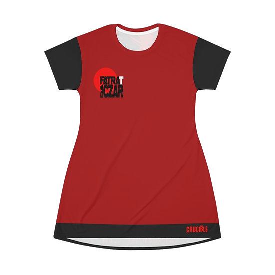 """FRDC X Soda City Vandalz """"HELLZ WRATH"""" - T-Shirt Dress"""