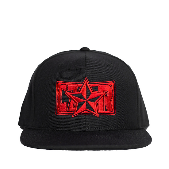 Czar Snapback - Black/Red
