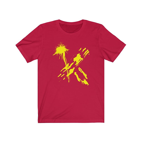 ETHX T-Shirt - RED/YELLOW