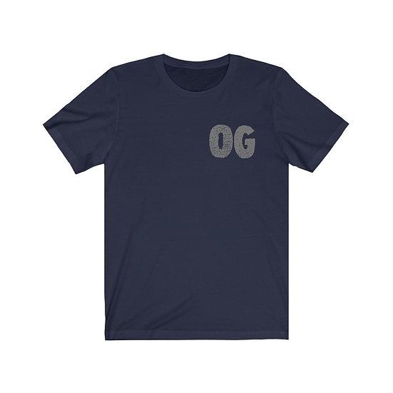 """FatRat Da Czar """"OG"""" T-Shirt - NAVY/GREY"""