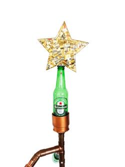 Mosaic Star Bottle