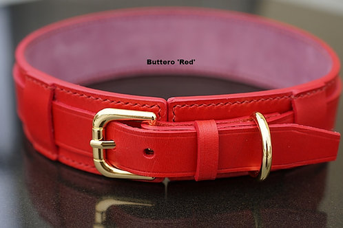 Double layer stitched collar (2.0cm + 3.5cm wide)