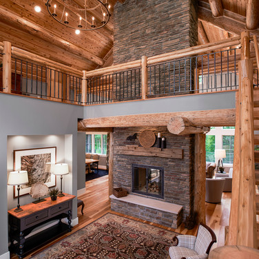 Red Pine Lodge Custom Home