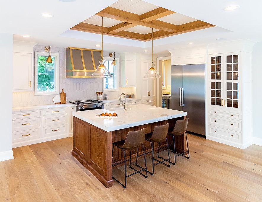 PRM Custom Builders kitchen in 1701 Wintrhop Brimingham MI, Interior Design, Luxury livingLaura McCaffery