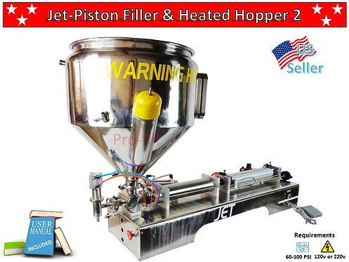 Jet Piston Filler & Heated Hopper 2