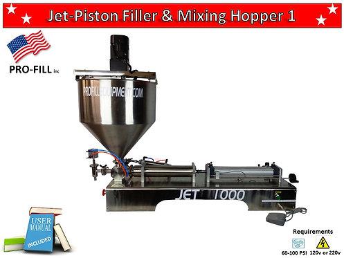Jet Piston Filler & Mixing Hopper 1