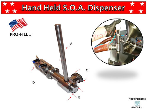 Hand Held S.O.A. Dispenser