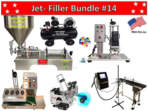 Piston Filler Bundle's (Air & Electric)