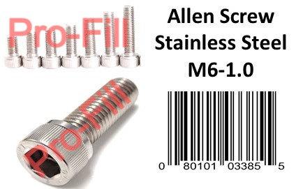 Allen screws / Stainless Steel