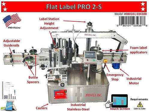Flat Label PRO 2 Sides #34388