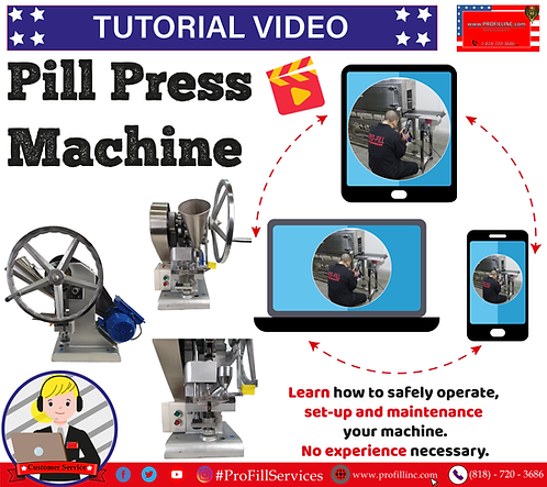 Tutorial Video (Pill Press Machine)