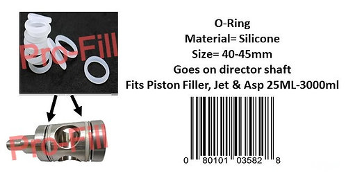 Director ShaftO-Ring (Silicone)