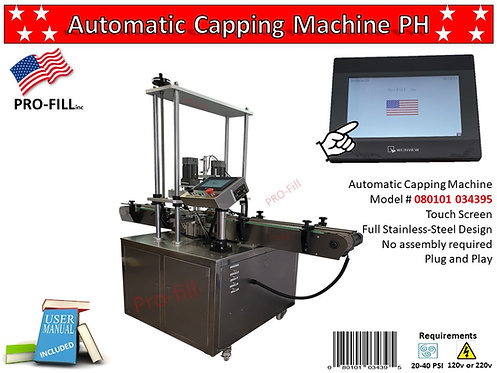 Automatic Capping Machine PH Rental