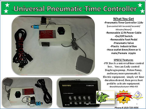 Universal Pneumatic Time Controller